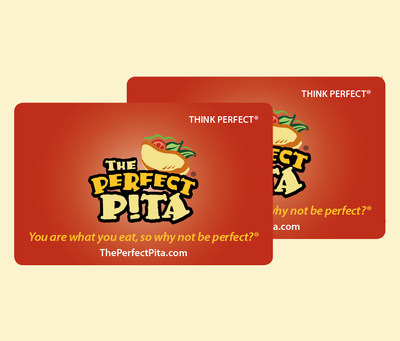 Gift Certificates The Perfect Pita